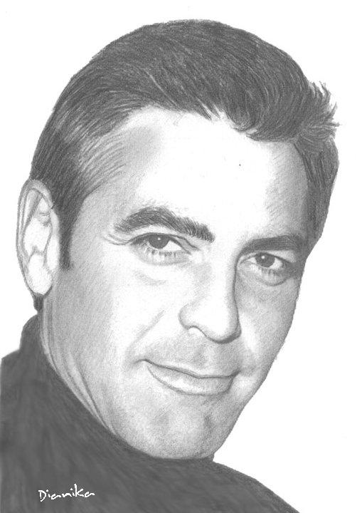 George Clooney by Dianika